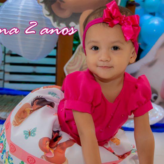 Filmagem Aniversário Infantil Luana 02 anos